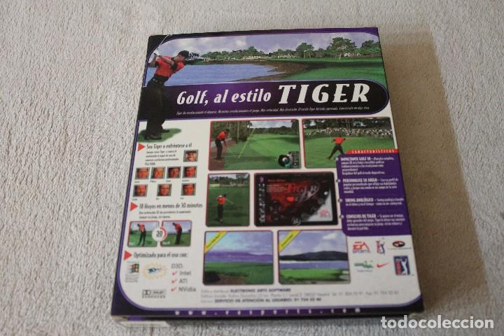 Videojuegos y Consolas: TIGER WOODS 99 PGA TOUR GOLF PC BOX CAJA CARTON - Foto 3 - 103881435