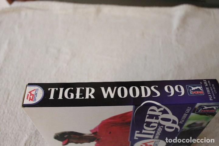 Videojuegos y Consolas: TIGER WOODS 99 PGA TOUR GOLF PC BOX CAJA CARTON - Foto 4 - 103881435
