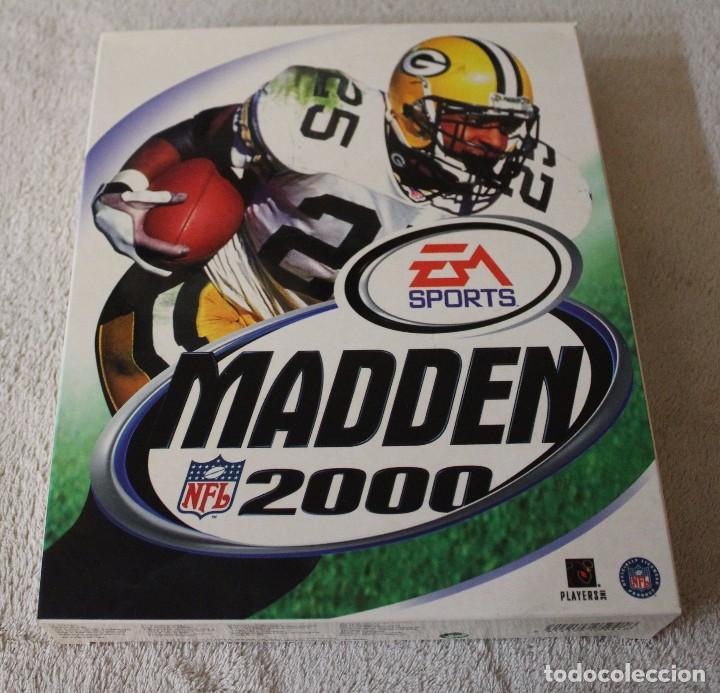 MADDEN 2000 PC BOX CAJA CARTON (Juguetes - Videojuegos y Consolas - PC)