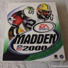 Videojuegos y Consolas: MADDEN 2000 PC BOX CAJA CARTON. Lote 103881575