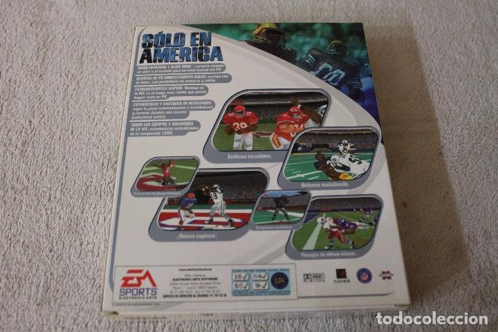 Videojuegos y Consolas: MADDEN 2000 PC BOX CAJA CARTON - Foto 3 - 103881575