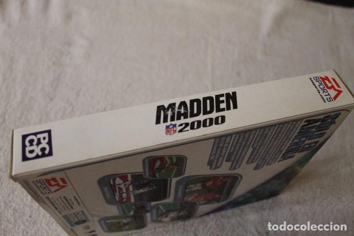 Videojuegos y Consolas: MADDEN 2000 PC BOX CAJA CARTON - Foto 4 - 103881575
