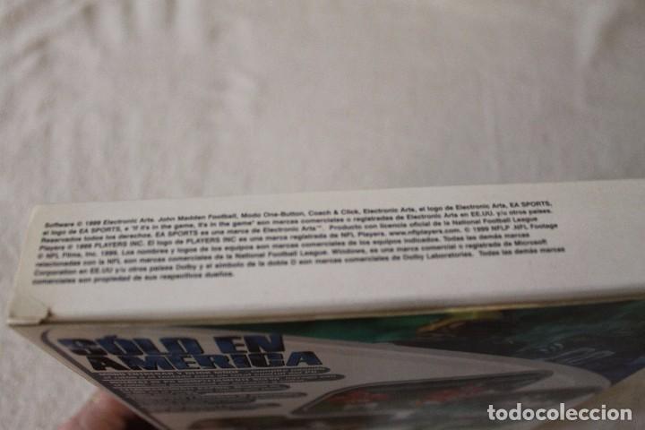 Videojuegos y Consolas: MADDEN 2000 PC BOX CAJA CARTON - Foto 5 - 103881575