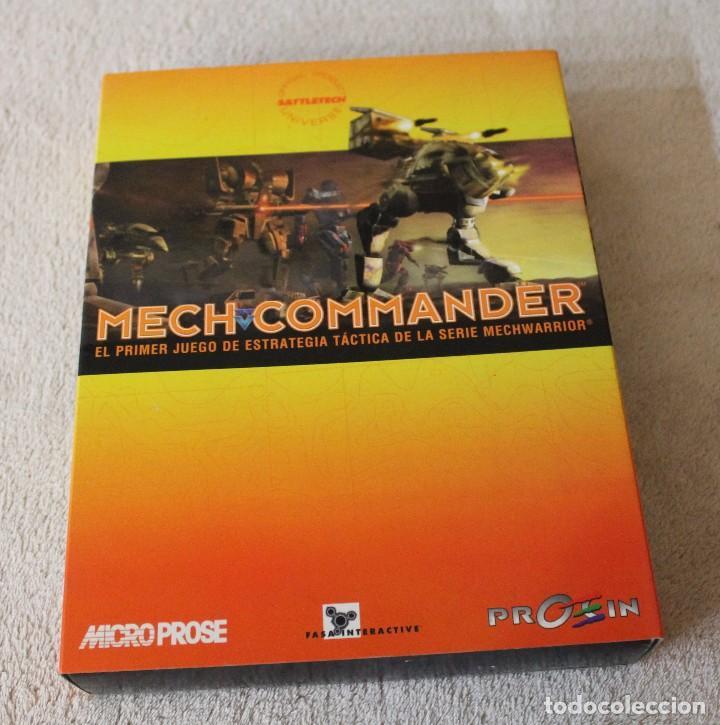 MECH COMMANDER PC BOX CAJA CARTON (Juguetes - Videojuegos y Consolas - PC)