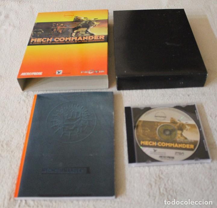 Videojuegos y Consolas: MECH COMMANDER PC BOX CAJA CARTON - Foto 2 - 103881743