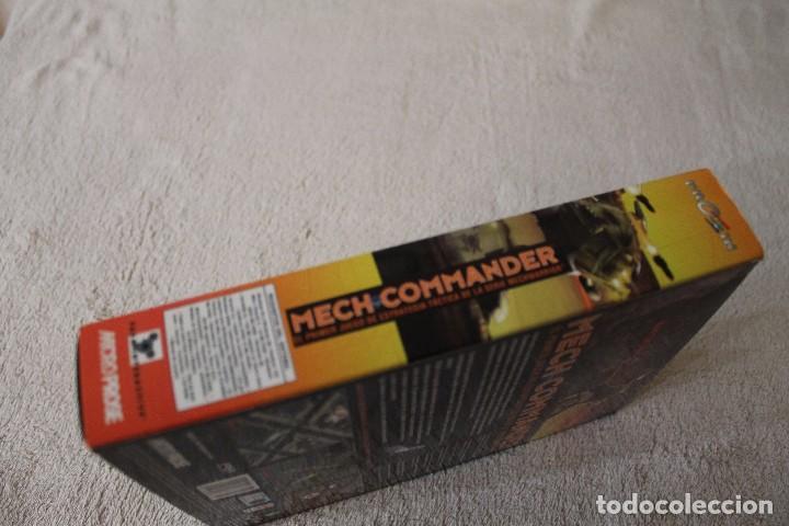 Videojuegos y Consolas: MECH COMMANDER PC BOX CAJA CARTON - Foto 4 - 103881743