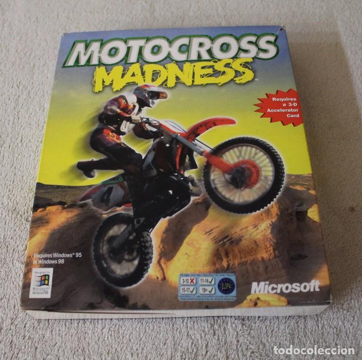 MOTOCROSS MADNESS PC BOX CAJA CARTON (Juguetes - Videojuegos y Consolas - PC)