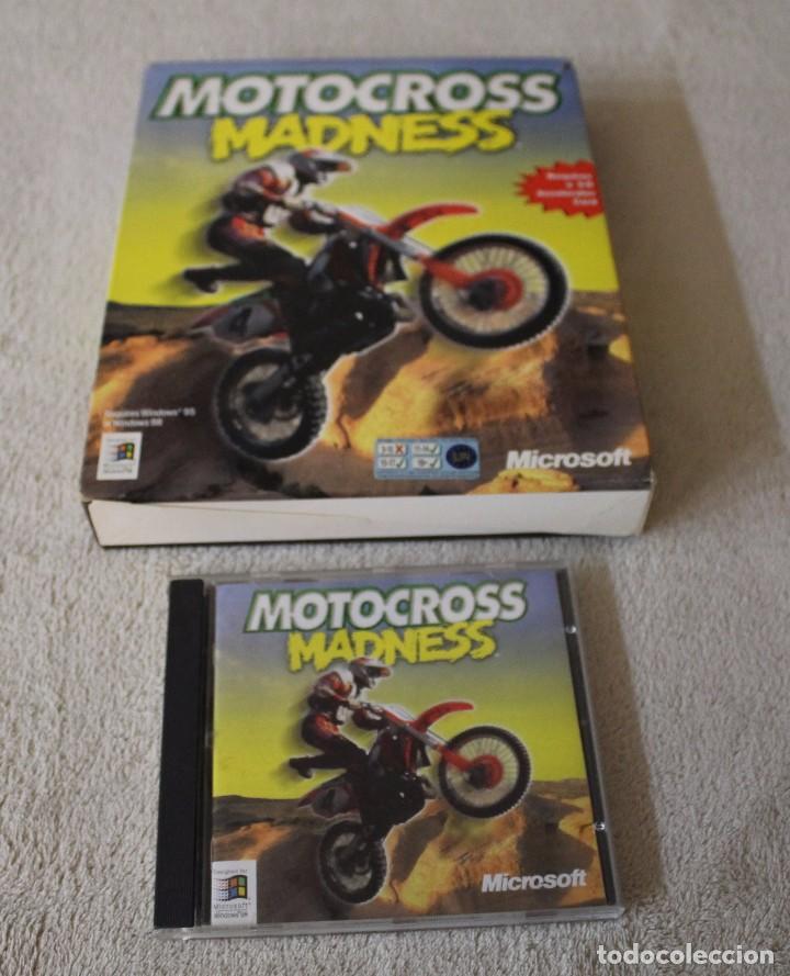 Videojuegos y Consolas: MOTOCROSS MADNESS PC BOX CAJA CARTON - Foto 2 - 103881871