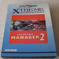 Videojuegos y Consolas: GRAND PRIX MANAGER 2 PC BOX CAJA CARTON. Lote 103882139