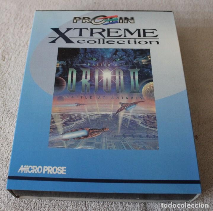 MASTER OF ORION II BATTLE AT ANTARES PC BOX CAJA CARTON (Juguetes - Videojuegos y Consolas - PC)