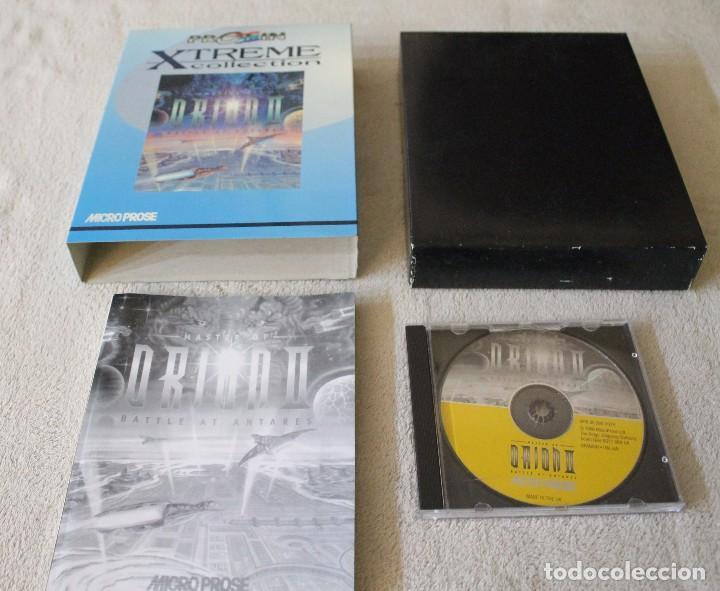 Videojuegos y Consolas: MASTER OF ORION II BATTLE AT ANTARES PC BOX CAJA CARTON - Foto 2 - 103882215
