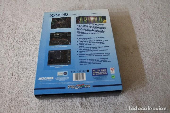 Videojuegos y Consolas: MASTER OF ORION II BATTLE AT ANTARES PC BOX CAJA CARTON - Foto 3 - 103882215