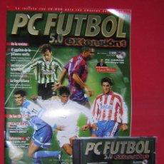 Videojuegos y Consolas: JUEGO PC FUTBOL 5.0 EXTENSION 1 + REVISTA. Lote 103896675