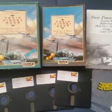 Videojuegos y Consolas: THEIR FINEST HOUR. LUCASFILM. VÍDEO JUEGO DE PC 5 1/4. ERBE.. Lote 103935423