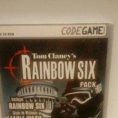 Videojuegos y Consolas: JUEGO PC RAINBOW SIX PACK. Lote 104350526