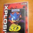Videojuegos y Consolas: XPLOSIV JUEGO PC SONIC FLICKIES ISLAND 3D EMPIRE SEGA PC. Lote 104485327