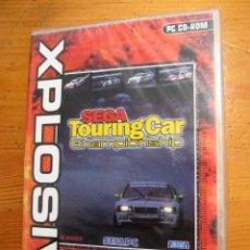 Videojuegos y Consolas: JUEGO PC CD ROM XPLOSIV SEGA TOURING CAR CHAMPIONSHIP 1996 1998 PRECINTADO. Lote 111114987