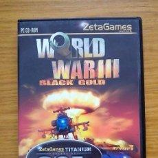 Videojuegos y Consolas: ESTRATEGIA EN TIEMPO REAL (RTS) WORLD WAR III. Lote 104863179