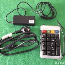 Videojuegos y Consolas: CARGADOR ORIGINAL HP COMPAQ 550 610 615 620 630 635 650 + TECLADO NUMERICO. Lote 104888799