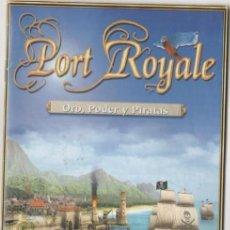 Videojuegos y Consolas: 'PORT ROYALE - ORO, PODER Y PIRATAS'. JUEGO PARA PC. COMO NUEVO.. Lote 105082663