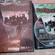 Videojuegos y Consolas - BLACK MIRROR 2 aventura grafica pc dvd game juego en castellano kreaten - 105108235