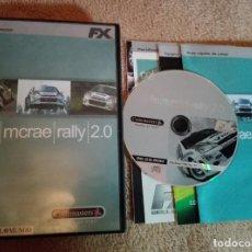 Videojuegos y Consolas: COLIN MC RAE RALLY 2.0 MCRAE PC GAME JUEGO KREATEN CD ROM FX. Lote 105108563