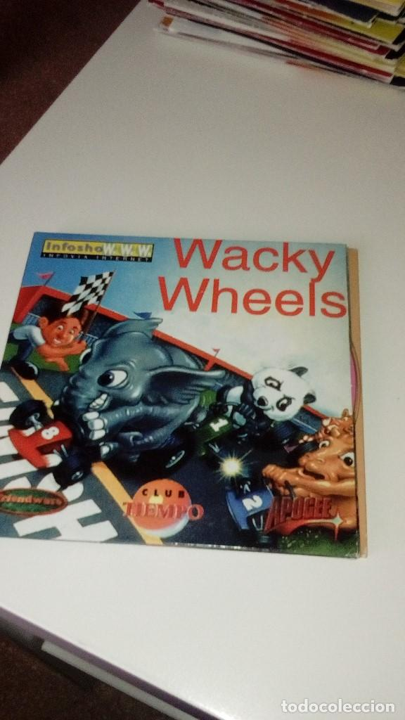 BAL-35 PC CD ROM WACKY WHEELS segunda mano