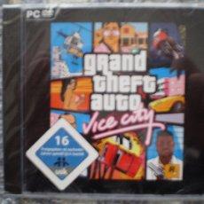 Videojuegos y Consolas - GRAND THEFT AUTO VICE CITY PC DVD ROM NUEVO EDICION ALEMANA GTA ROCKSTAR - 45387439