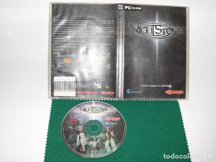 JUEGO PC NIGHTSTONE PC CD ROM (Juguetes - Videojuegos y Consolas - PC)