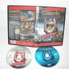 Videojuegos y Consolas: JUEGO PC COSSACKS PC CD ROM. Lote 105394447