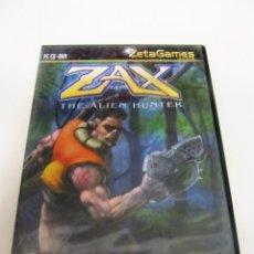 Videojuegos y Consolas: JUEGO PC CD ROM ZAX THE ALIEN HUNTER ZETAGAMES. Lote 105560719