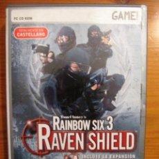 Videojuegos y Consolas - JUEGO CD ROM Tom Clancys Rainbow Six 3 - Raven Shield Gold Edition INCLUYE ANTHENA SWORD 4 CD'S - 105568083