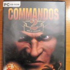Videojuegos y Consolas: JUEGO PC CD ROM. COMMANDOS 2. MEN OF COURAGE. © PYRO STUDIOS 2001. CON 3 DISCOS MANUAL. Lote 105568211