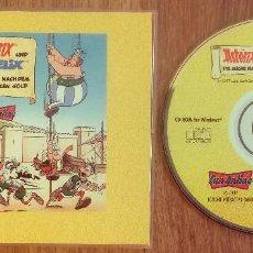 Videojuegos y Consolas: ASTERIX Y OBELIX LA BUSQUEDA DEL ORO NEGRO CD-ROM UNICO MUY RARE. Lote 106046903