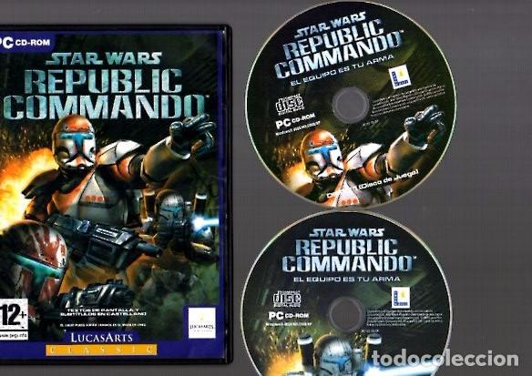 STAR WARS - REPUBLIC COMMANDO - PC CD-ROM - WINDOWS 98SE/ME2000/XP