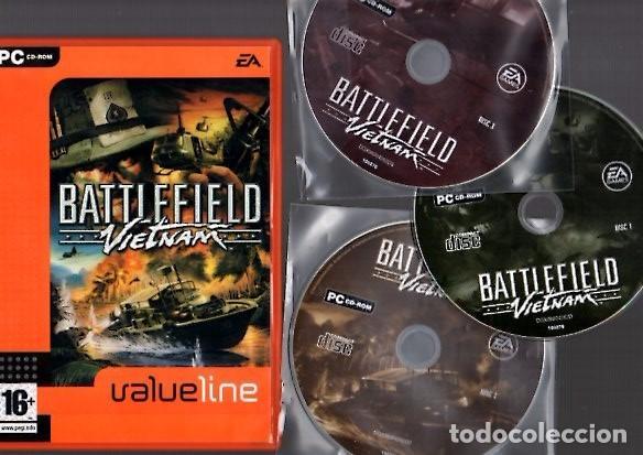 BATTLEFIELD VIETNAM - PC CD-ROM - VALUELINE DGX08004262D segunda mano