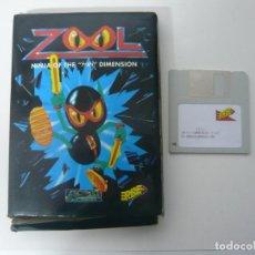 Videojuegos y Consolas: ZOOL / IBM PC Y COMPATIBLES / MS-DOS / RETRO VINTAGE PC DISQUETES. Lote 106107031