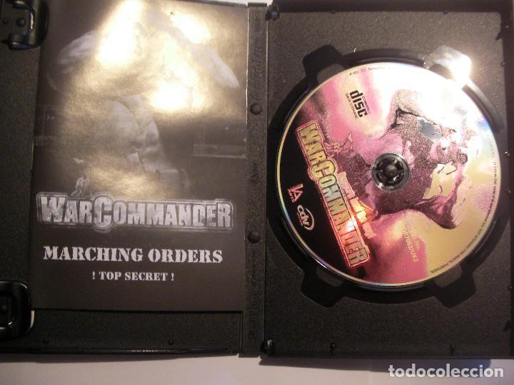 Videojuegos y Consolas: ANTIGUO JUEGO PC - WAR COMMANDER - Foto 2 - 106595463