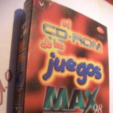 Videojuegos y Consolas: ANTIGUO JUEGO PC - JUEGOS MAX DEL 98. Lote 106596027