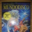 Videojuegos y Consolas: JUEGO PARA PC / IBM MUNDODISCO DE TERRY PRATCHETT EN ESPAÑOL (1995) 15 DISKETTES DE 3.5''. Lote 107663159