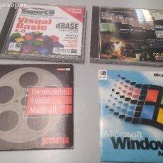 Videojuegos y Consolas: MUCHOS CDS ANTIGUOS. Lote 107725231