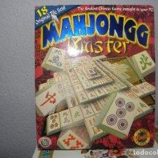 Videojuegos y Consolas: JUEGO PC MAHJONGG MASTER CD. Lote 107733895