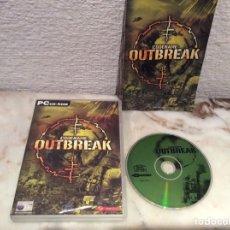 Videojuegos y Consolas: CODENAME : OUTBREAK, JUEGO PARA PC. Lote 107691371