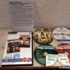 Videojuegos y Consolas: RENEGADE COMMAND & CONQUER , CLIVE BARKER´S , UNDYING - JUEGO PARA PC. Lote 107692487