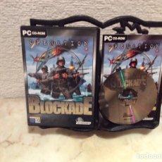 Videojuegos y Consolas: OPERATION BLOCKADE - JUEGO PARA PC. Lote 107692651