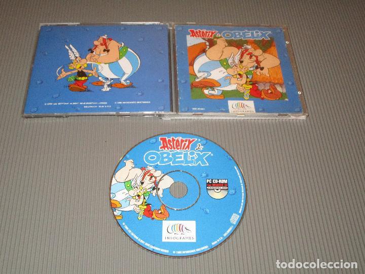 ASTERIX & OBELIX - PC - 1996 INFOGRAMES MULTIMEDIA (Juguetes - Videojuegos y Consolas - PC)