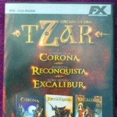 Videojuegos y Consolas: JUEGO PC *TZAR (CORONA - RECONQUISTA - EXCALIBUR)*. Lote 108810107
