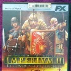 Videojuegos y Consolas: JUEGO PC * IMPERIVM IMPERIUM II - LA CONQUISTA DE HISPANIA* COMPLETO CON LIBRO DE INSTRUCCIONES. Lote 108811127