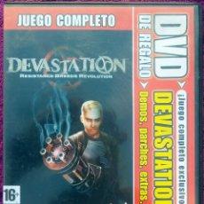 Videojuegos y Consolas: JUEGO PC *DEVASTATION BREEDS REVOLUTION* UN CLASICO. Lote 108815663