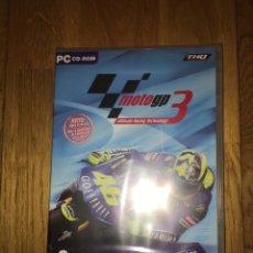 Videojuegos y Consolas: JUEGO PC MOTO GP 3 SIN ABRIR PUBLICIDAD BUCKLER. Lote 109050786